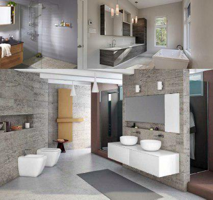 Mueble de baño estilo moderno