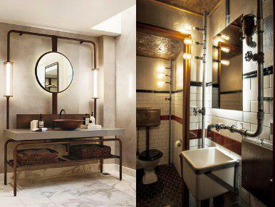 Mueble de baño estilo industrial