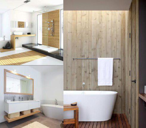 Mueble de baño estilo nórdico o escandinavo