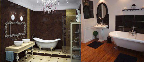 Mueble de baño estilo clásico