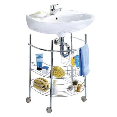 Comprar Muebles de baño adaptable a lavabo con pie 3
