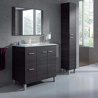 Comprar Muebles de baño color blanco i gris 3