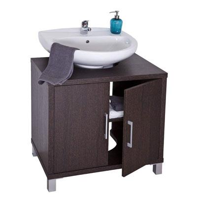 Mueble de baño bajo Lavabo 8915, Wengue