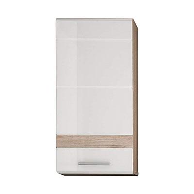 Muebles, Roble, Blanco, 37 X 77 X 24 cm