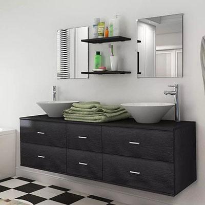 Comprar Muebles de baño color negro