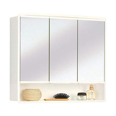 armario con espejo Lymo - ancho 59 cm - blanco – Espejo de baño