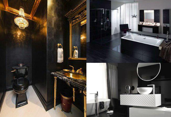 Mueble color negro