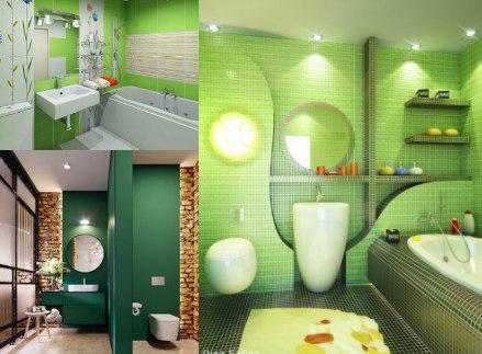 Mueble color verde