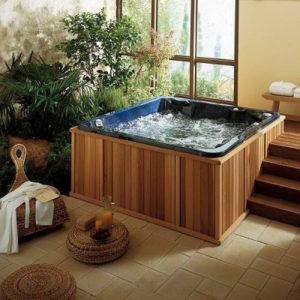 cuarto de baño estilo spa hidromasaje