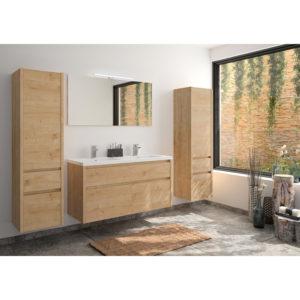 mueble madera cuarto de baño