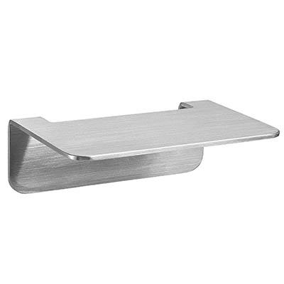 WEISSENSTEIN Repisa baño Adhesiva de Acero Inoxidable | Balda baño de Pared | Estante baño sin Taladro | 14 x 10 x 5 cm