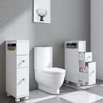 Muebles de baño de madera 2