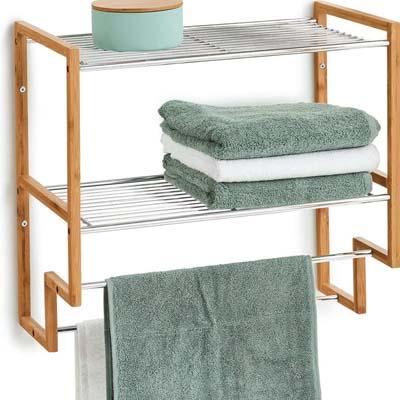Muebles de baño de bambú 2