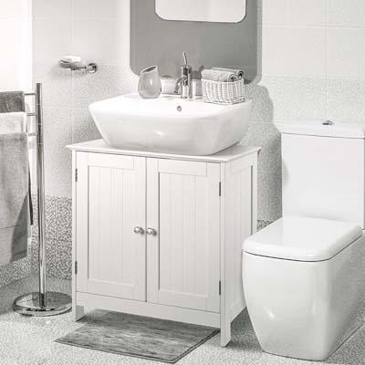 Muebles de baño de madera contrachapada 2