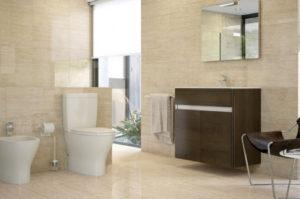 cerámica y azulejos para el cuarto de baño según el espacio