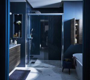 comprar mueble de baño color azul