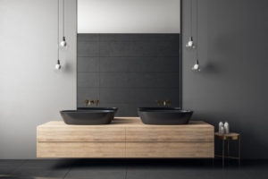 lavabo color negro