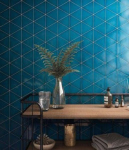 mueble para cuarto de baño color azul