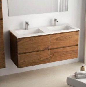comprar muebles de doble lavabo para baño