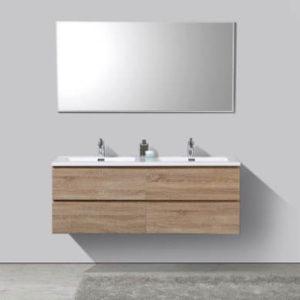 muebles de baño de doble lavabo
