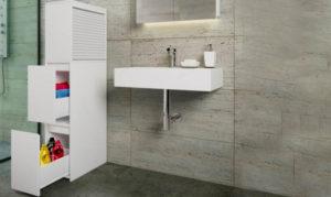 mueble auxiliar cuarto de baño